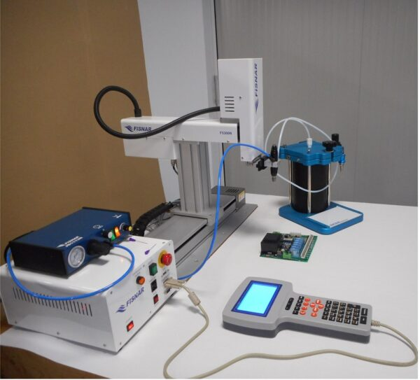 sistema robot F5300N.2 con serbatoio
