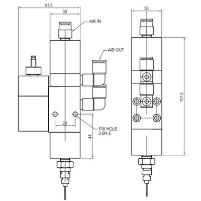 VDP100-dimensions